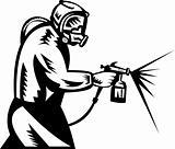 spraypainter at work