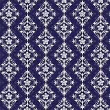 Violet and white seamless pattern