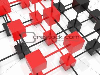 3D abstarct background