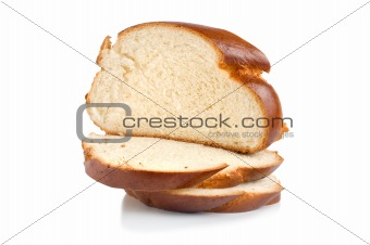 Chunks of sweet bread