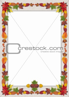 Autumn Leaves Portrait