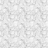 seamless abstract waves lines pattern