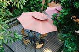 Summer patio
