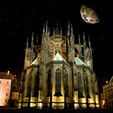 Saint Vitus' Cathedral in Prague