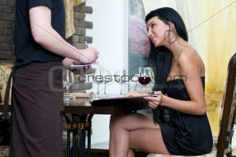 Order in restaurant