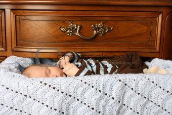 Sleeping in Drawer