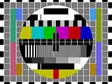 Television test screen