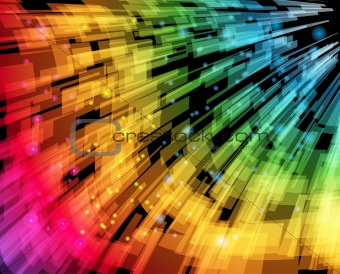 Abstract Speed Background Vector