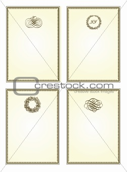 Vector Brown Frame Set