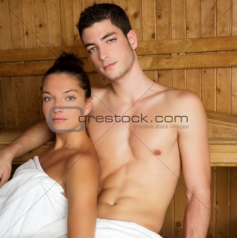 Sauna spa therapy
