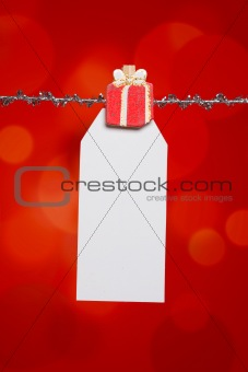 Christmas Birthday Gift Tag