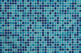 Blue tiled background