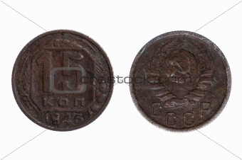 Older Coin from Russia macro