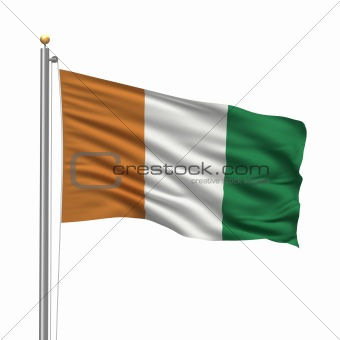 Flag of the Ivory Coast
