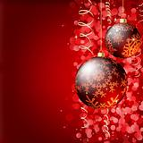 Merry Christmas Elegant Background.