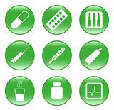 Drug-store - vector web icons