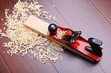 Shavings of wood