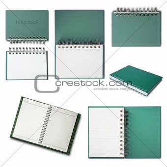 Green Notebook collection