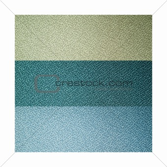 Three eart tone sample color of fabric