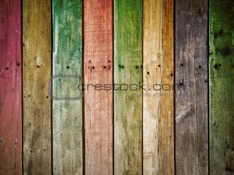 old grunge wood panel