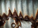 Old Zinc rust oxides