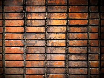 old grunge brick wall