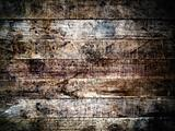 grunge old wood wall