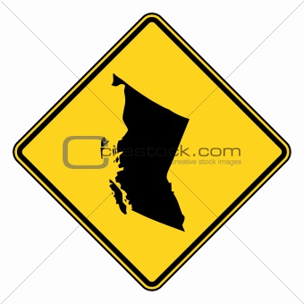 British Columbia road sign