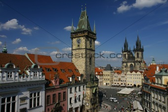 Beautiful Prague Square