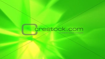 Green rays - abstract background #2