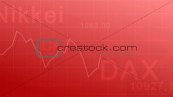 Market indexes - red #1