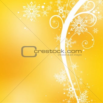 Background and Christmas Floral