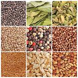 Grain and spices
