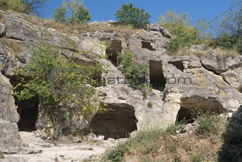 Chufut-Kale, cave settlement in Crimea