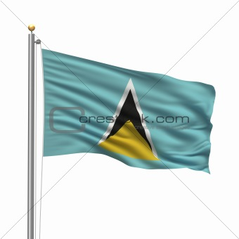 Flag of Saint Lucia
