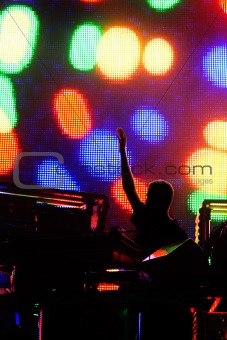 A concert of electronic music