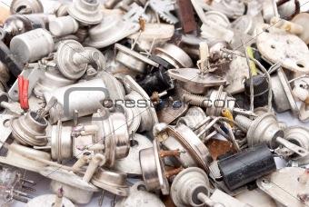 Old radio components