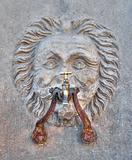 Historical fountain. Gubbio. Umbria.