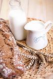 Still-life assortment of baked bread