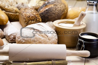 Breakfast, Variety of bread