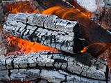 burninging firewood