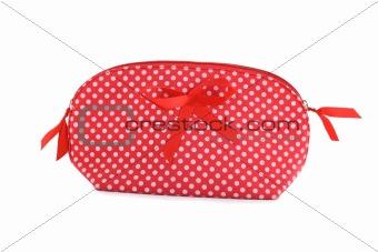 cosmetics make-up bag