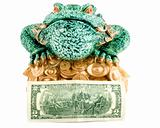 frog 2 dollar symbol wealth