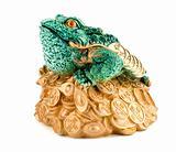 frog symbol wealth