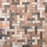 mosaic wall