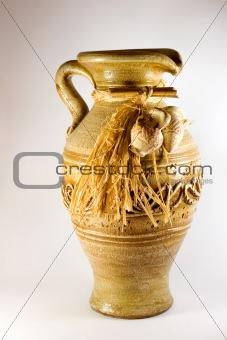 Pottery pitcher antique