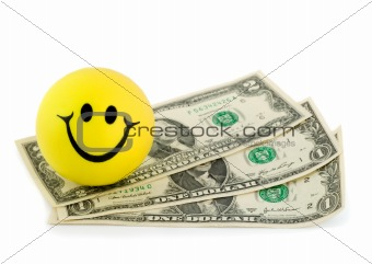 smile money dollar