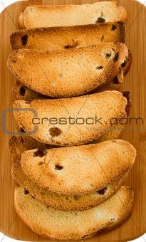 toast zwieback crust