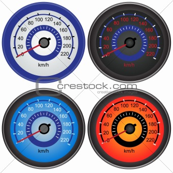 Speedo meters
