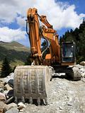 Excavator - Road Construction